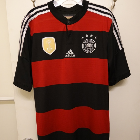 adidas Other - Germany World Cup Champions 2014-15 Away Jersey